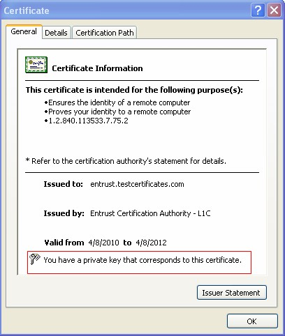 What are the steps to recover the private key of an SSL certificate ...